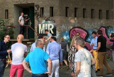 Verslag 24 juni 2016 - bezoek watertoren en BBQ