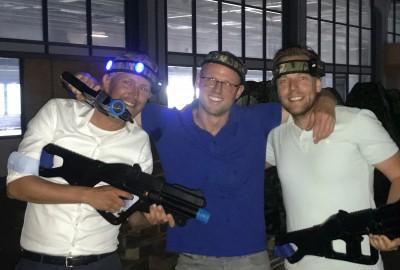 Verslag 13 september - lasergamen Westerlaan 51